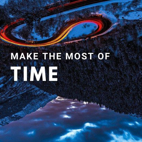 Image Website design Make the most of time