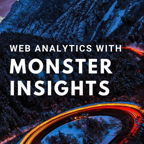 BATS Post Website Analytics Design Monster Insight Google Analytics
