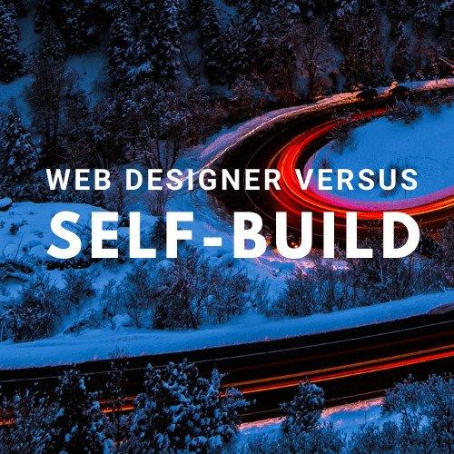 BATS Website Design Web Designer v Self Build